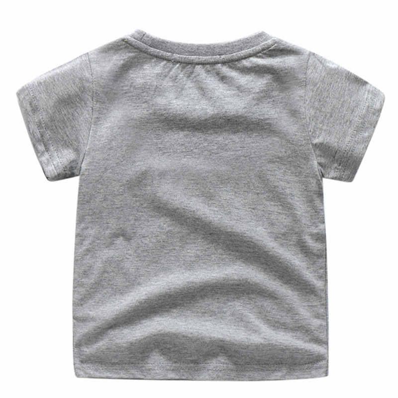 Crianças Camiseta Branca Encabeça Roupas Para Crianças 3D Engraçados Dos Desenhos Animados Pocoyo Tshirt Impressão Traje Menino Camisetas Camisa Das Meninas T de Roupas