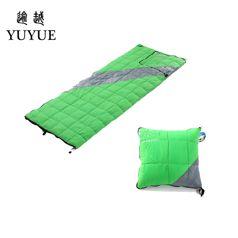 High Quality Light Down Sleeping Bag Ultralight For Camping Tent Soft Sleeping Bag Multi-function Pillow For Car Sofa Sleep Bag 5