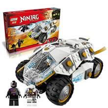 2016 New LEPIN 06040 371Pcs Ninjagoed Tumbler Model Building Kits Minifigure Blocks Bricks Toys Compatible Legoe 70588