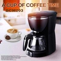 220 V DCM203 Gotejamento Cafeteira máquina de Café Máquina de Café Americano Automático para Home Office 10 Copos de Café Doméstico Que Faz A Máquina|Cafeteiras| |  -