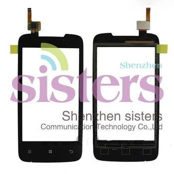 10Pcs Wholesale High Quality Touch Screen Digitizer For Lenovo A390, Free Shipping