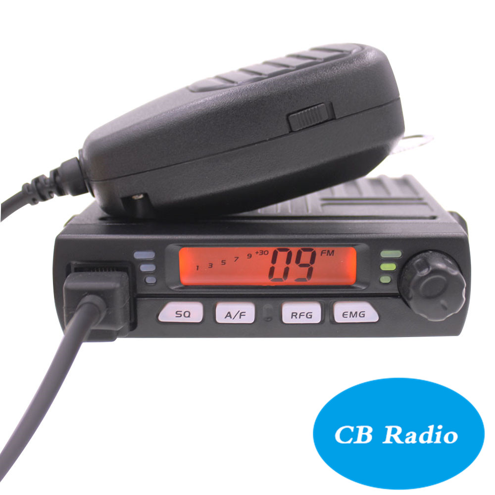 Image 2 - Mini mobile radio CB 40M 25.615  30.105 AR 925 8W 40CH 9/19 emergency channel CB Car Radio Smart Transceiver amateur Compact AM-in Walkie Talkie from Cellphones & Telecommunications