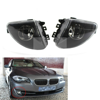 For BMW F10 F18 5 Series 2011 2012 2013 Auto Fog Lamp Clear Lens Car Front Bumper Grille Driving Fog Lights 63177216887
