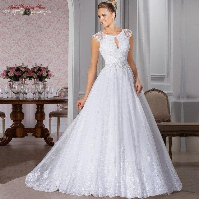 La compra De venta en línea princesa Vintage De encaje De boda 2015 ...