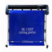 SK 1350T Vinyl cutting plotter 1350mm paper plotter Usb vinyl cutter plotter Software/English manual 220/110V
