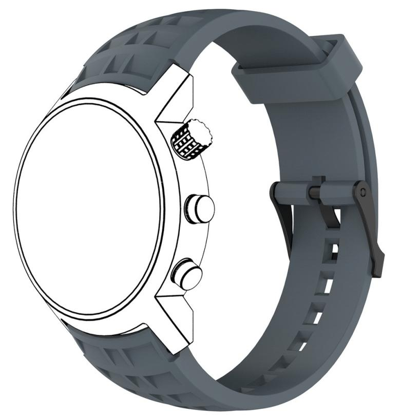 HL 2017 New Strap Replacement Silicone Smart Band With Screwdriver For Suunto Elementum Terra drop shipping oct24
