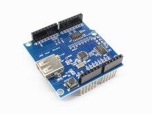 Support de bouclier hôte USB pour Arduino pour Android ADK & UNO 328 MEGA 2560 Duemilanove