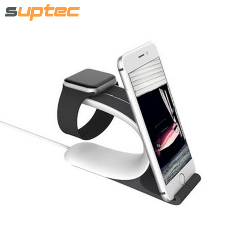 Multi function Phone Holder for iPhone Charging Stand Holder for Apple Watch iWatch Desk Dock Station