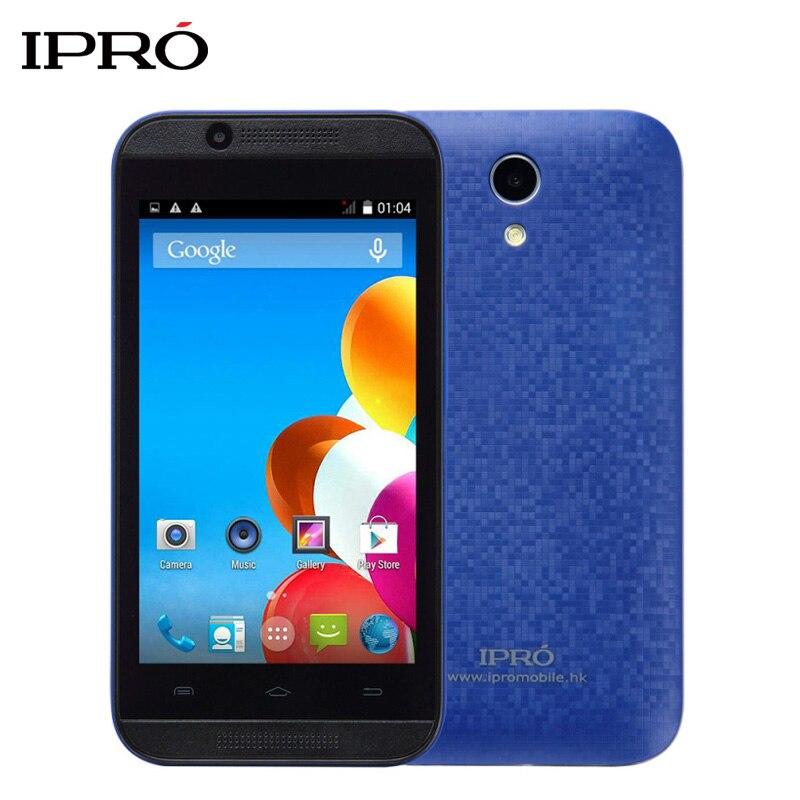 Цена за Оригинал IPRO Волна 4.0 Дюймов 3 Г Смартфон MTK6572 Двухъядерный Celular Android Открыл Мобильный Телефон 512 М ОПЕРАТИВНОЙ ПАМЯТИ 4 ГБ ROM Две СИМ Карты