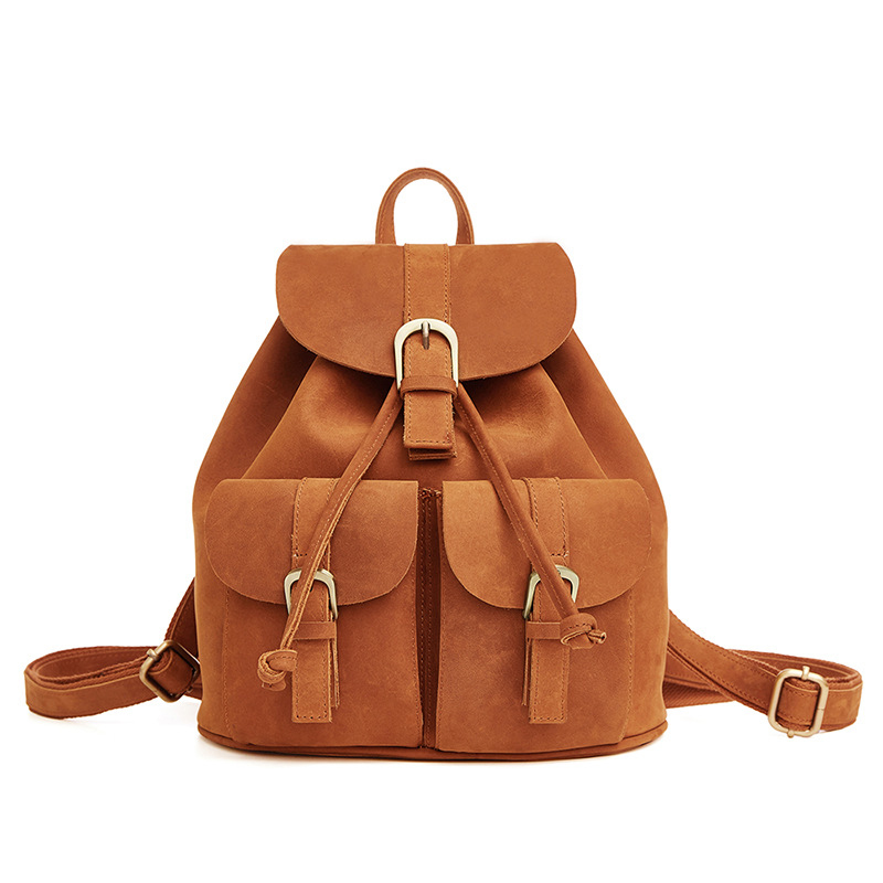 Fashionable Casual Women 'S Backpack New Genuine Leather Leather Simple design A4252 women s classic backpack