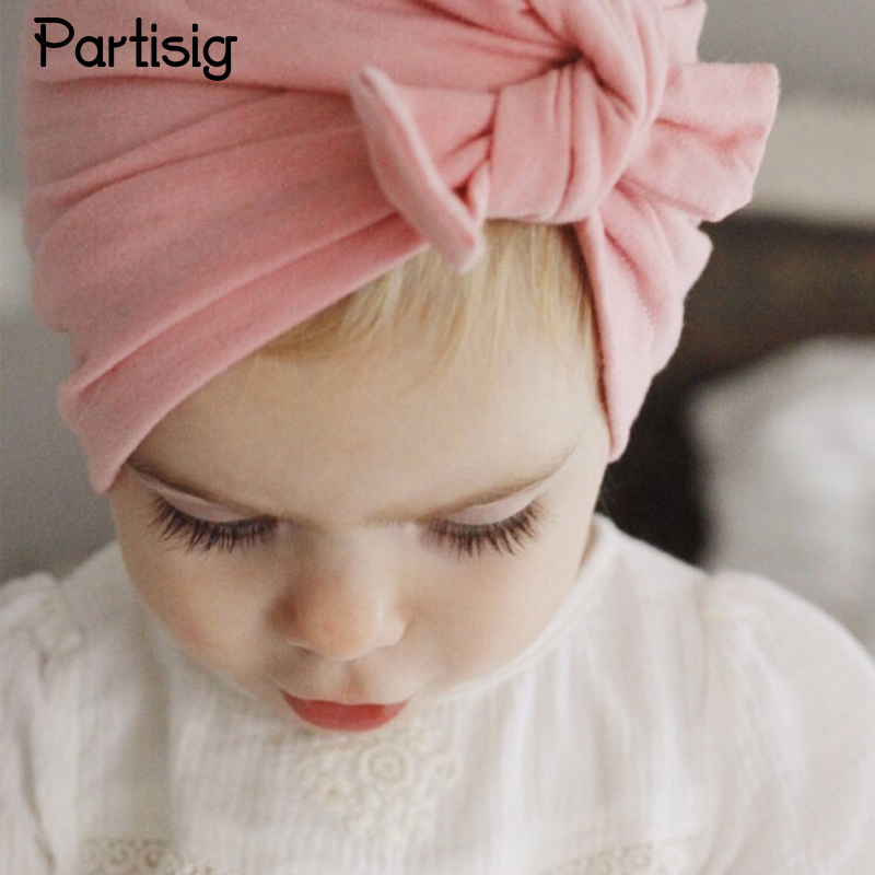 Baba kalap csomózott baba lányok kalap pamut kötött pillangó - Bébi ruházat