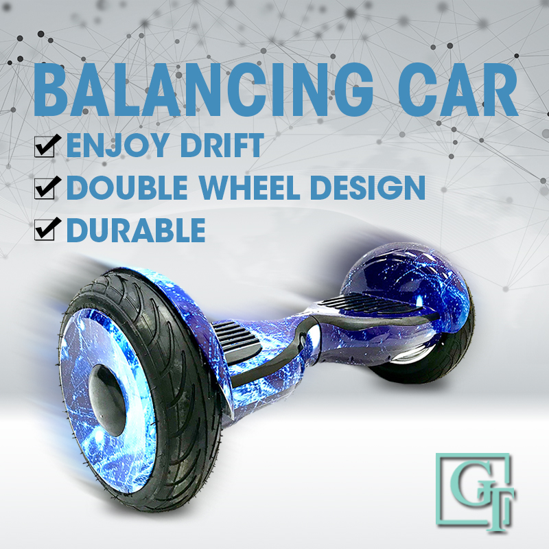 GyroScooter Hoverboard PT 10.5 pouces avec bluetooth deux roues intelligent auto équilibrage scooter galaxie APP Tao-Tao hover board