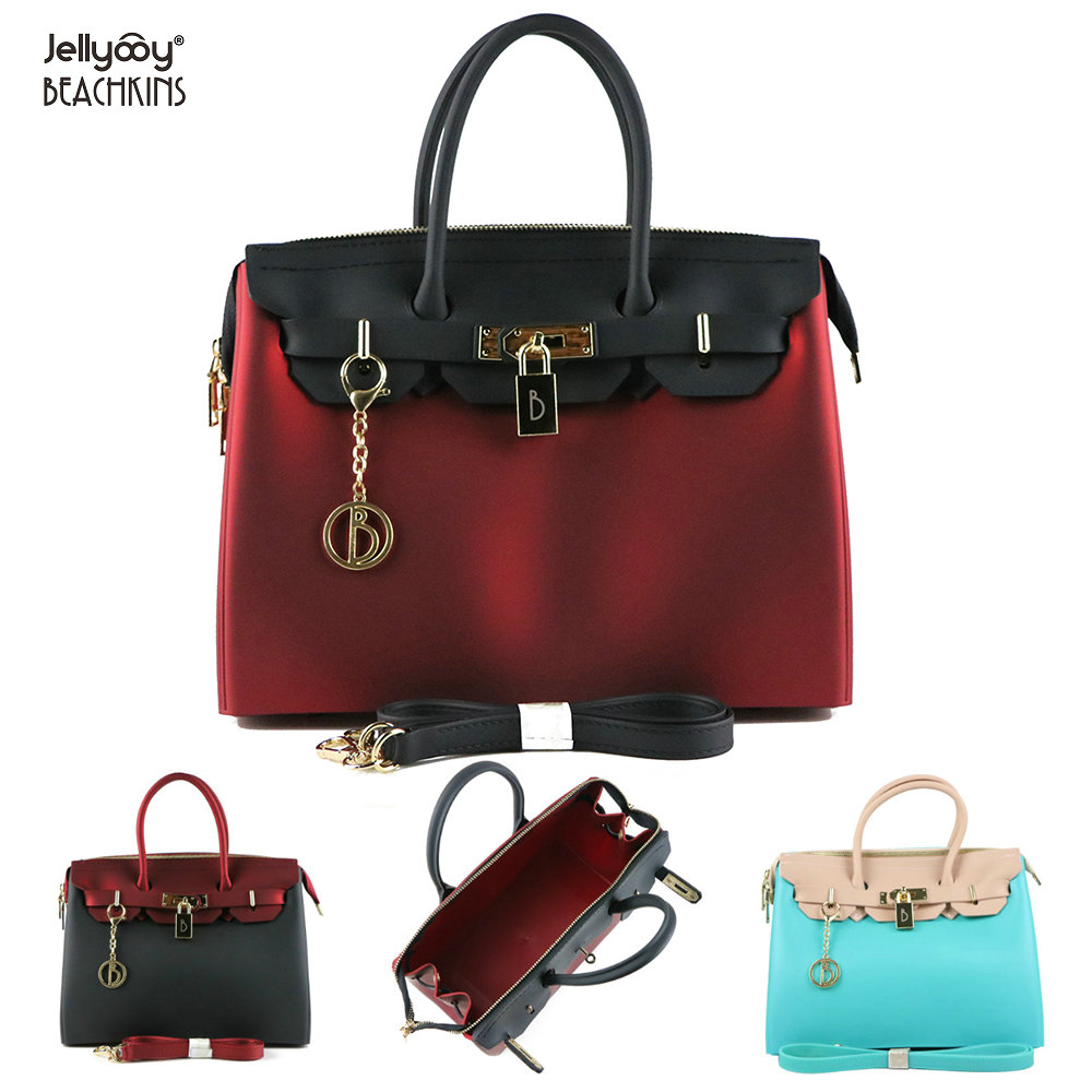fb7b3289fcff SUNNY BEACH Brand Luxury Rivets Handbags Women Bag Matte Jelly Stud Bag  Tote Bag Designer Purse ...