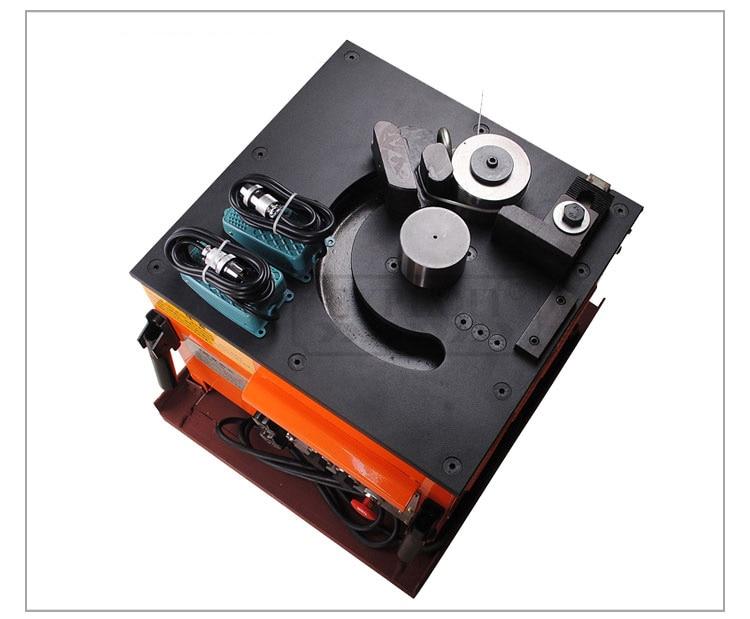 EXPRB-25 elektromos hidraulikus acél rúdhajlító gép, nyitva 4-25 - Szerszámgépek és tartozékok - Fénykép 2