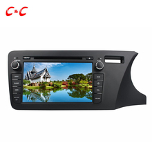 Quad Core 1024X600 Android 5.1.1 Car DVD Player for Honda City 2014 Right Driving with Radio GPS Navi, Support Mirror Link SWC