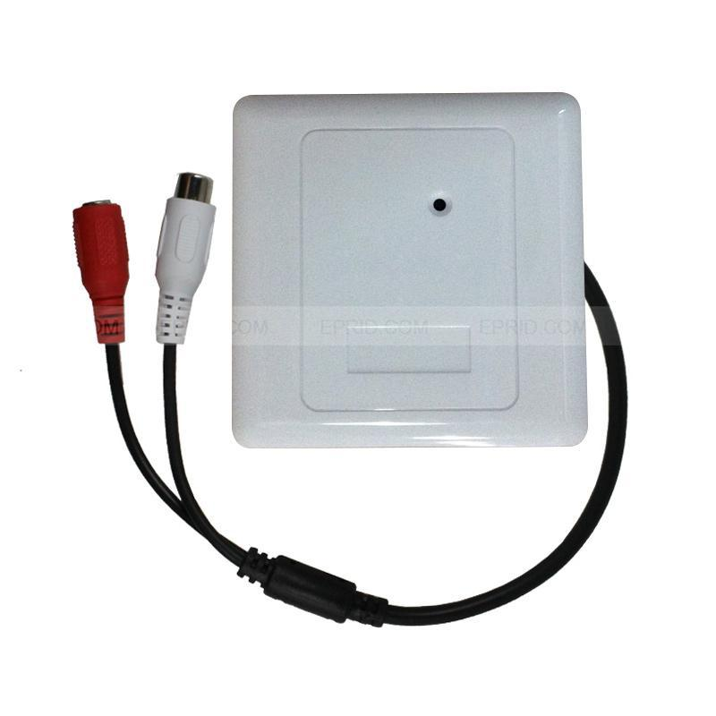 Panel Microphone Hidden Surveillance MIC CCTV Security AGC Pick up Audio RCA Sound Monitor тиски зубр эксперт 32703 200