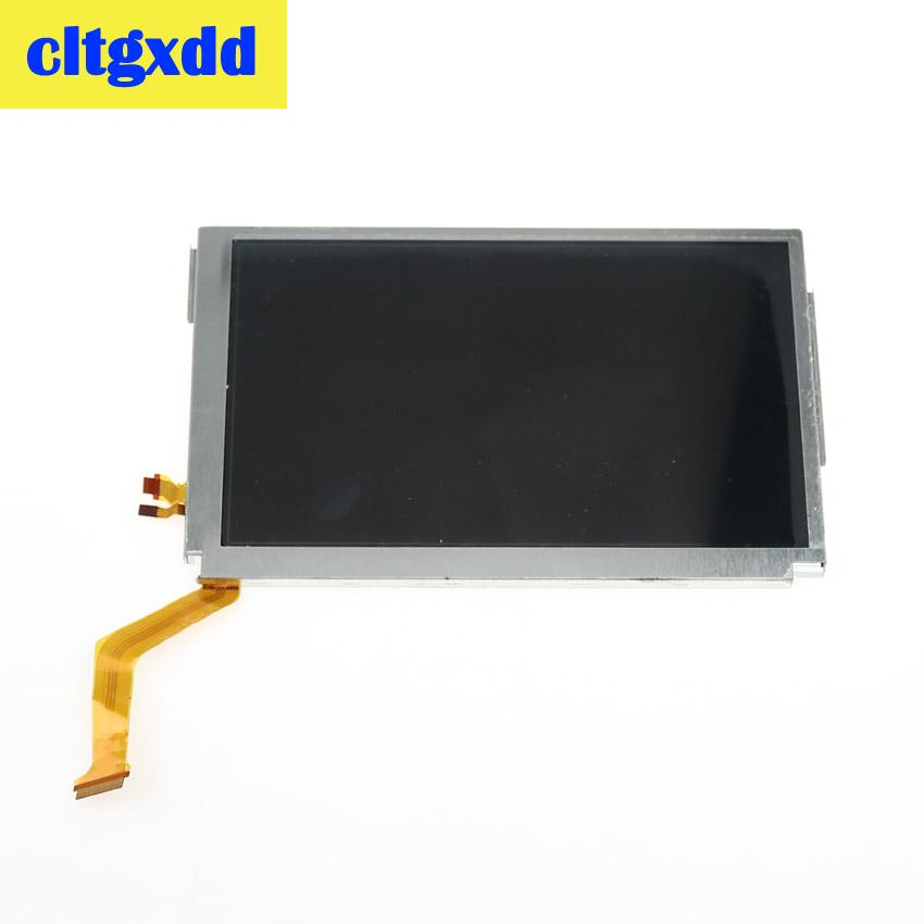 Cltgxdd Replacement Upper Top Bottom Lower LCD Display Screen For NEW 3DS XL LL Repair Parts Display Panel