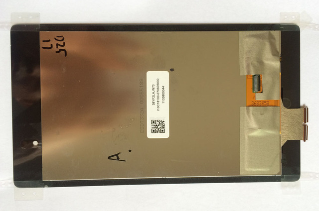 full new for ASUS Google Nexus 7 ME571  ME571K K008 2nd 2013 LCD display with touch screen digitizer assembly With adhesive