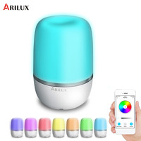 ARILUX Colorful WIFI Table Night Light Smart Mood Light APP Control Bedside Led Night Lamp For Alexa Google Voice Control