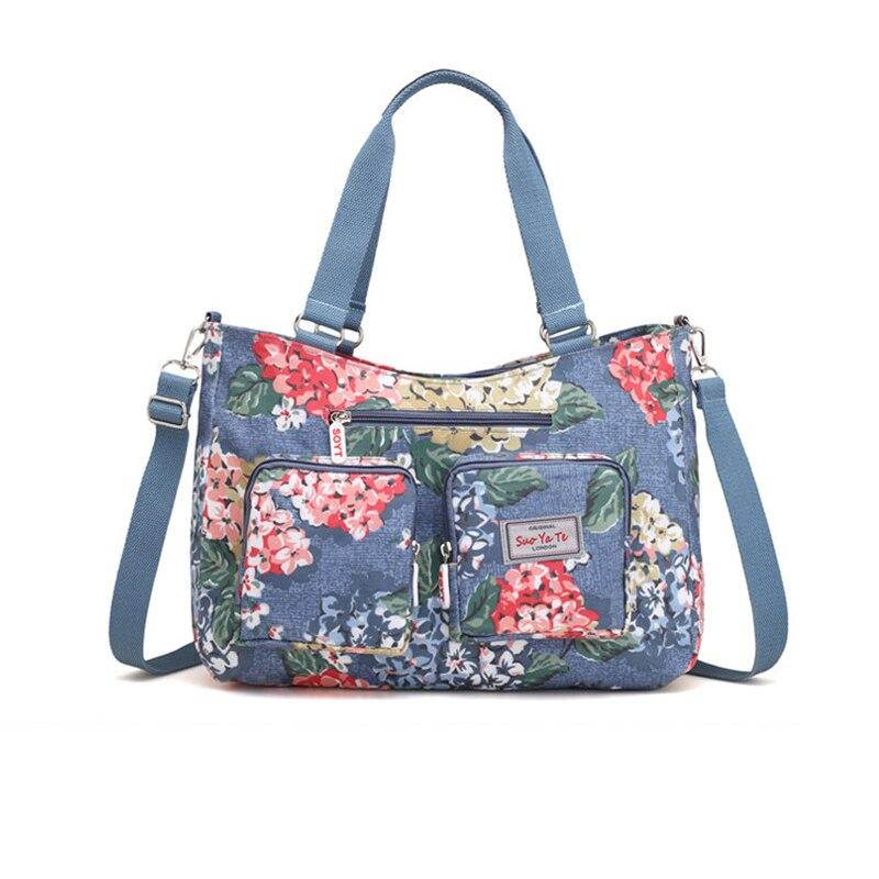 Women Travel Bags Handbag Waterproof Canvas Duffle Bag Travel Bags For Women 2018 New Fashion T584