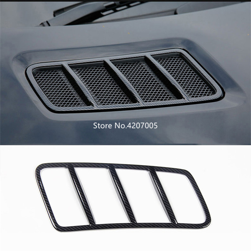 2Pcs Carbon Fiber ABS Plastic Engine Roof Hood Frame Trim For Mercedes Benz ML GL GLE GLS Class W166 2013 2018 Car Accessories-in Interior Mouldings from Automobiles & Motorcycles    2