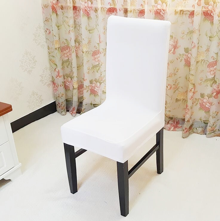 Thick Half Length Stretch Chair Cover