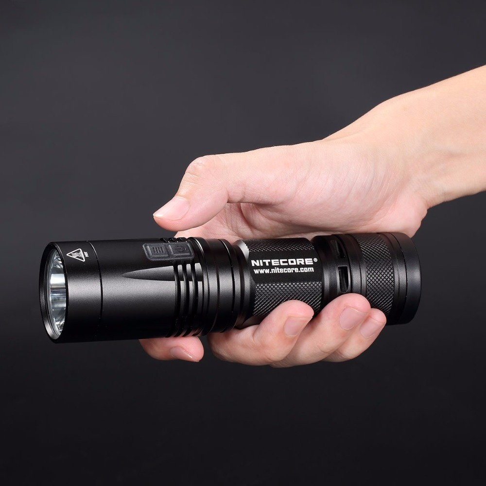 TOPSALE NITECORE R40 FlashLight 1000LM INDUCTIVE Charging with Rechargeable Battery Gear ...