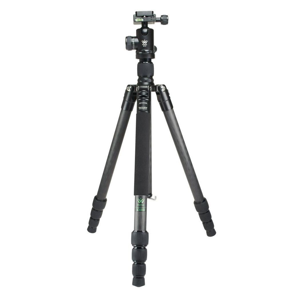 Matton W 324C + Q44 Professional камера со штативом с быстроразъемной пластиной гидравлический демпфер головы костюм трип Tripodes аксессуары