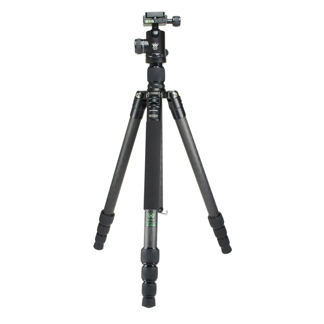 Matton W 324C Q44 Professional Camera Tripod Quick Release Plate Hydraulic Damper Head Suit Tripe Tripodes Accessories in Tripods from Consumer Electronics