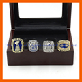 New Version Ring sets with Wooden Boxes1986/1990/2007/2010 Replica Super Bowl New York Giants Sets Championship Ring