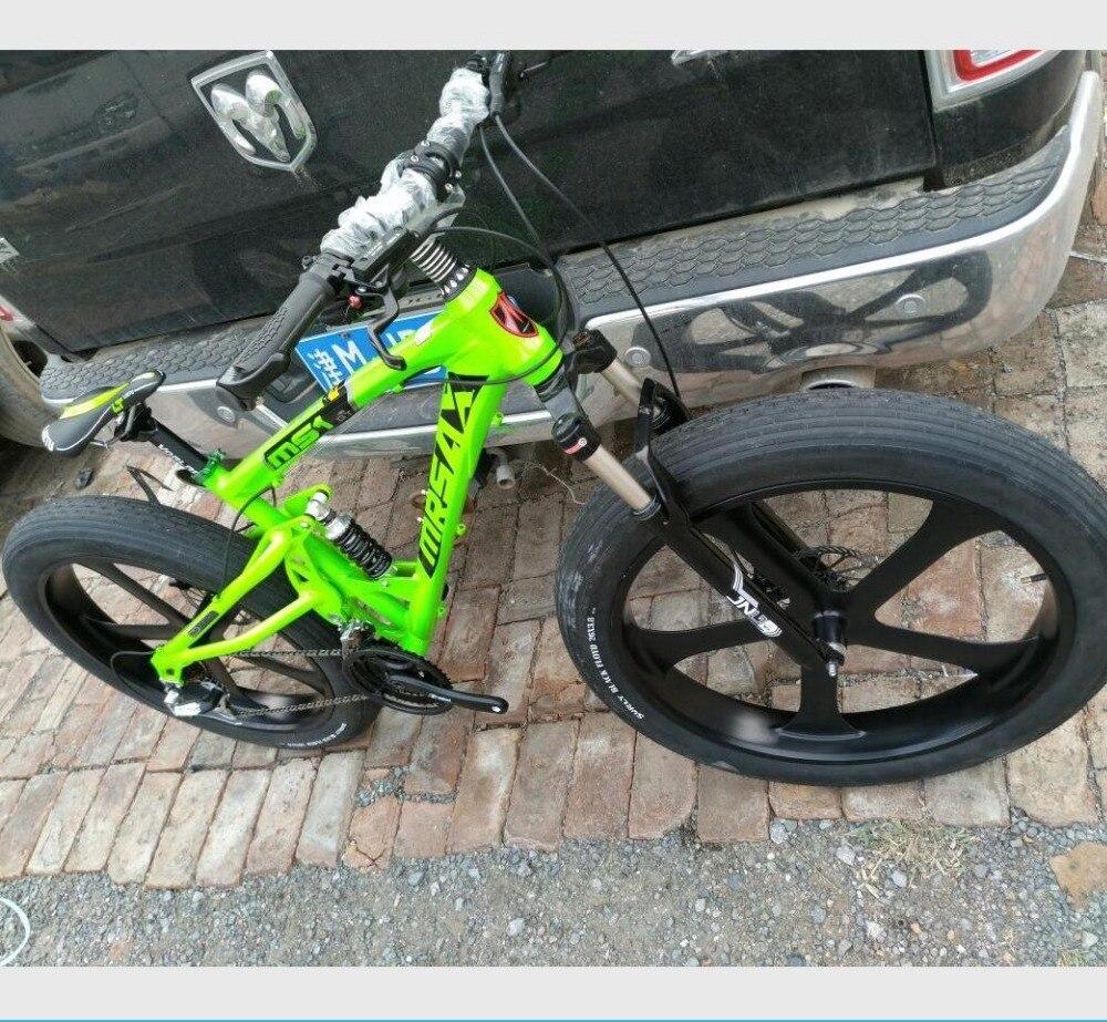 Kalosse Aluminium vollgefederten rahmen strand/schnee fett fahrrad ...