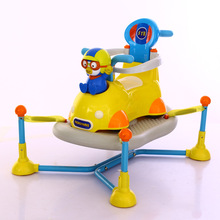 4 in 1 baby spring car kids scooter rocking chair rocking horse walker