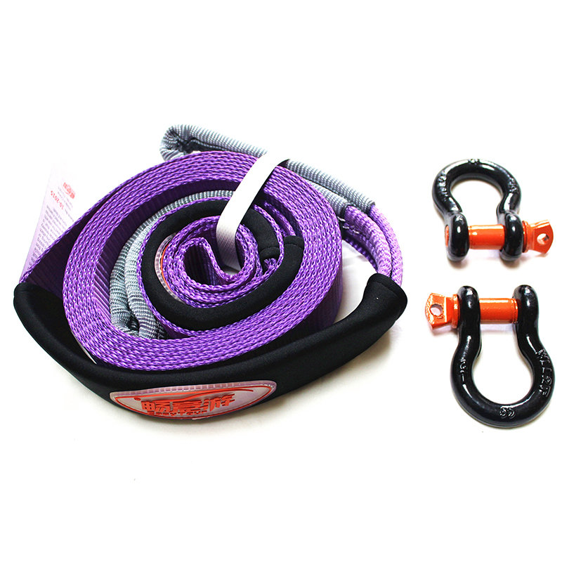 5 Ton 5 Meter Tow Rope For Cars Trailer Ropes with 2 Hooks Winch Towing Cable Strap Winch Cables Belt Car Emergency Essentials цена