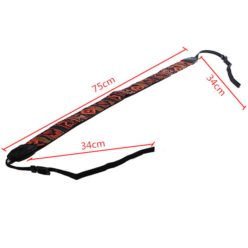 Image 5 - Kaliou Ethnic Style Photo Camera Colorful Strap Cotton Yard Pattern Neck Strap DSLR Shoulder Hand Strap for Canon Nikon Sony Pen-in Sports Camcorder Cases from Consumer Electronics