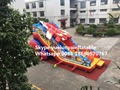 (Гуанчжоу) производители, продающие надувные горки, Надувные слайд-сочетание Самолета слайды KY-706