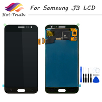 Hot Truth 1PCS AAA LCD Screen Touch Panel For Samsung Galaxy J3 2016 J320 J320M LCD