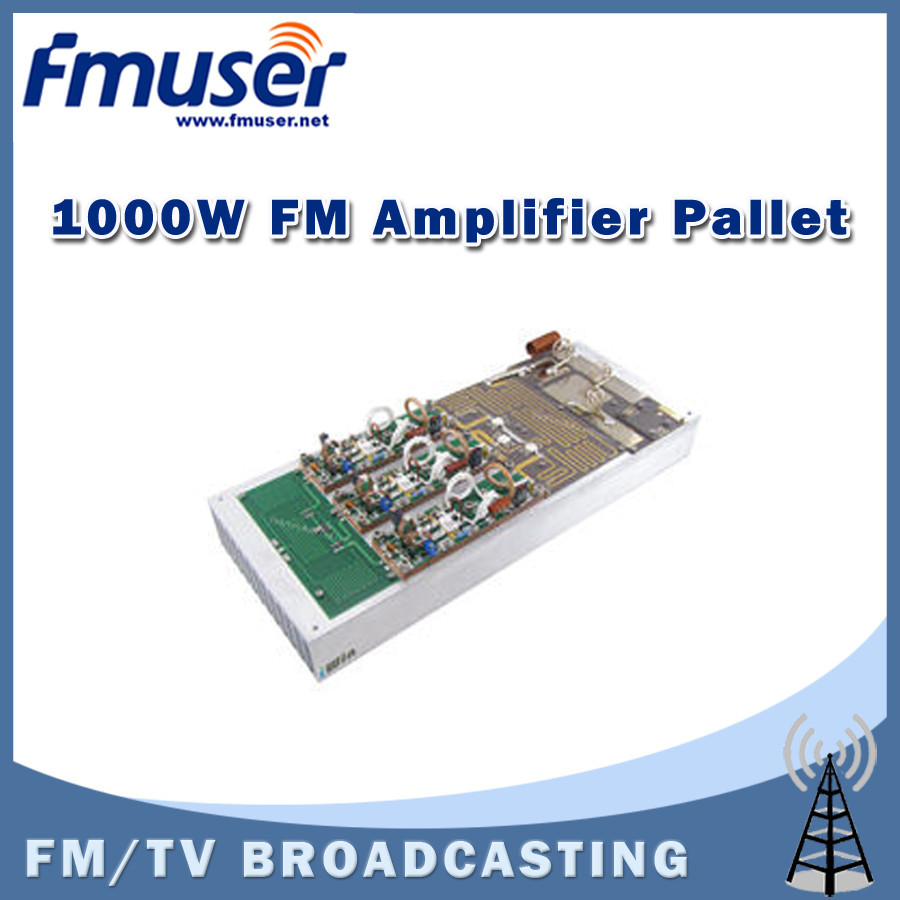 Free Shipping Fmuser Fu Ab1000 1kw Fm Amplifier Module Pallet For Circuit The Designed Radio Transmitter This Incorporates Micro Strip Technology And Mosfet Transistor To Enhance Ruggedness Reliability