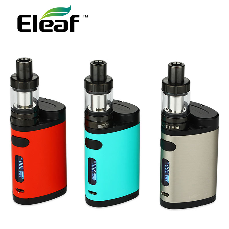 Original Eleaf Pico Dual TC Kit 200W w/ Pico Dual Box Mod and eleaf MELO 3 Mini Atomizer 2ml vs istick Pico Electronic Cigarette erisson 40 les 76 t2 телевизор