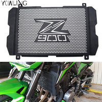 Z900 2017 Motorcycle Radiator Guard Stainless Steel Cover Protector Guard For Kawasaki Z900 2017