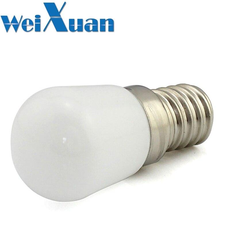 Light Bulbs Realistic 10pcs/lot E14 Led Light Bulb 2w 220v Ac Lamp 2leds 5730 Light White Warm White Led Lamp For Fridge Freezer Refarigerator Hood Numerous In Variety