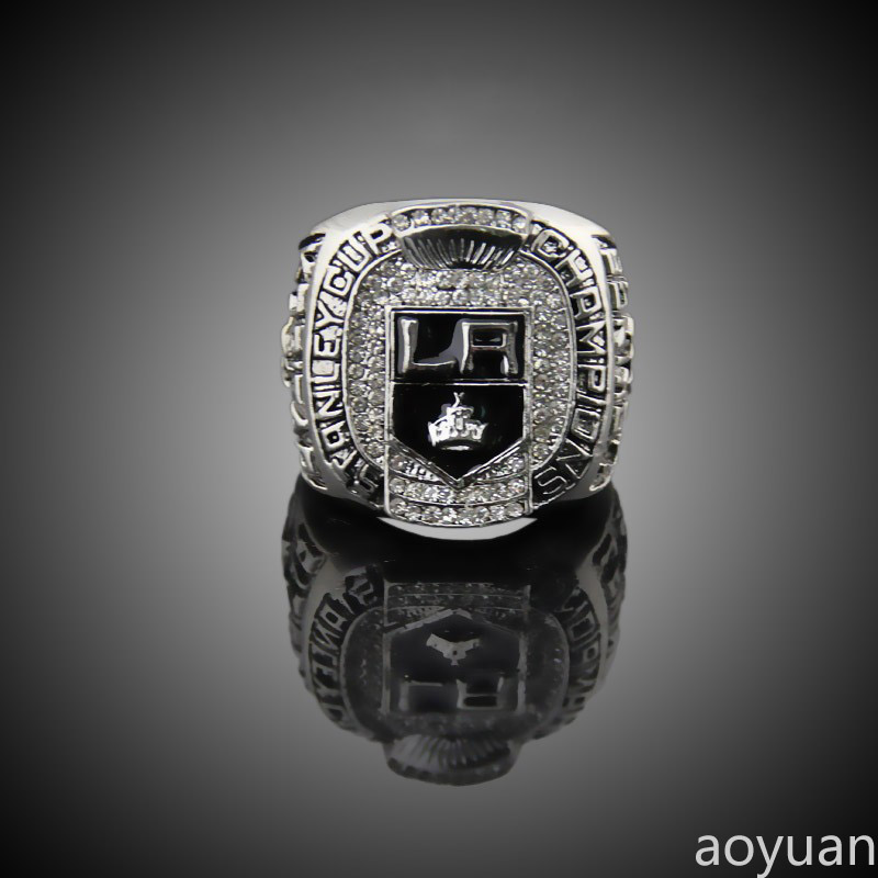 aoyuan Championship rings,2012 LA Los Angeles Kings Stanley cup championship hockey rings, sports fans rings, men gift ring.