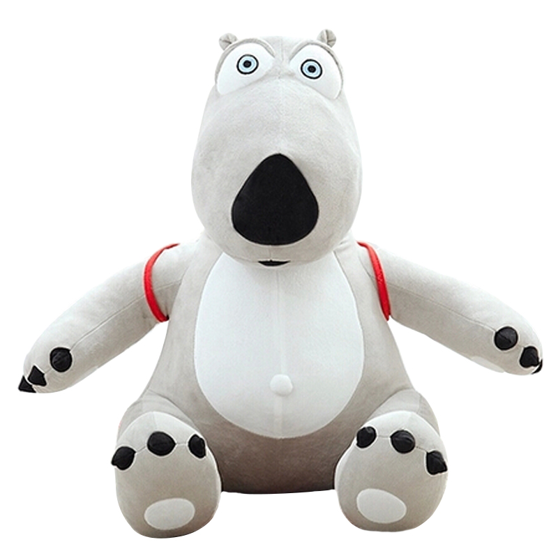 Guaranteed 100% Genuine Cotton 1PCS/BAG Kids Toy 30cm Unlucky Backkom Bear Baby Plush Dolls,cartoon Bear Free Shipping