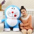 1 PCS 40 CM Hot bonito brinquedo Doraemon Doraemon de pelúcia boneca brinquedos de pelúcia presente do bebê brinquedo do bebê brinquedo de presente de aniversário do miúdo frete Grátis