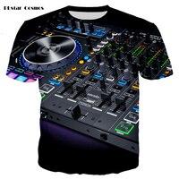 YX GIRL fashion Suono Attivato LED Illumina in Su e giù infiammante del Compensatore di EL T-Shirt Da Uomo per Rock Disco Party DJ T shirt