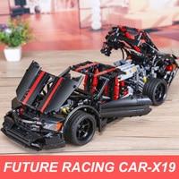Xingbao 07003 1814pcs Creative Genuine Building Blocks Future Racing Car Model Building Kits LegoINGlys Car TECHNIC MOC Bricks