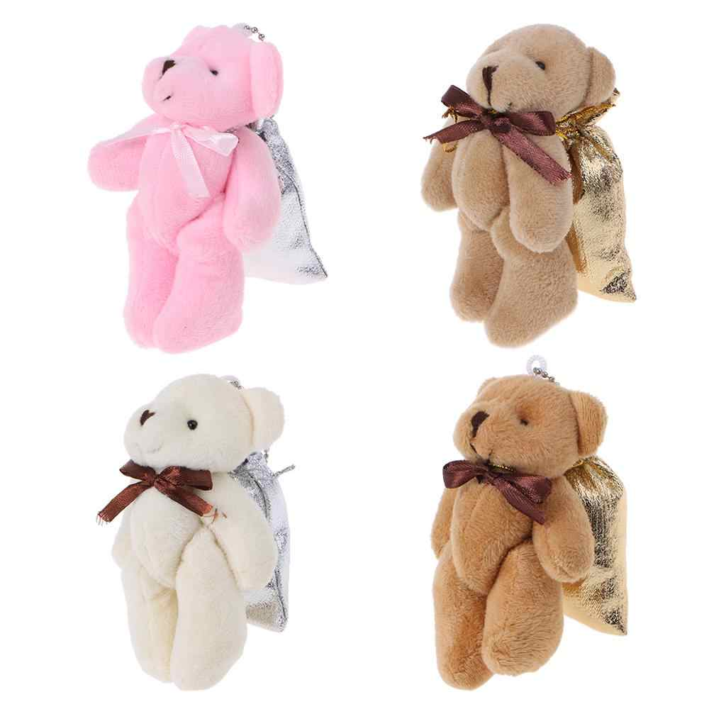 Wedding Favors Candy Bag Cartoon Baby Bear Decor Party Birthday Souvenir Gifts Supplies Household Jewelry Storage Pocket