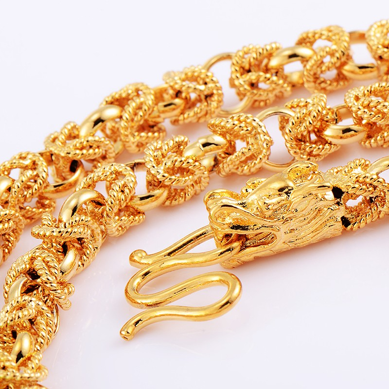 Men-Jewelry-FASHION-WOMENS-HEAVY-18K-SOLID-GOLD-FILLED-Dragon-LINK-CHAIN-20INCH-NECKLACE-For-Men (3)
