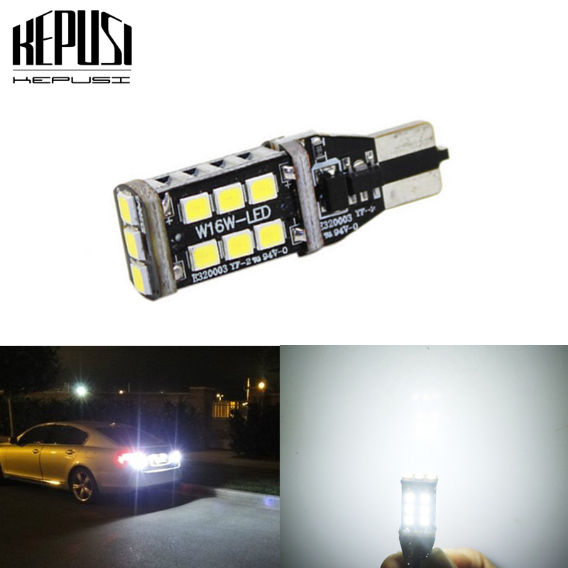 2x T15 W16W Reverse LED White 6000K Free Error Mercedes A Class W176 2012-2016