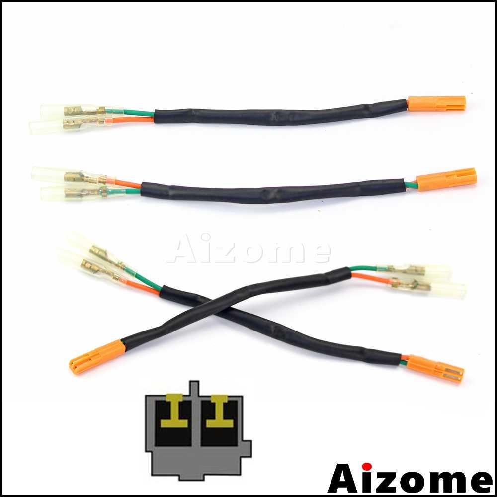medium resolution of motorcycle rear turn signals adapters wiring harness connectors for honda ctx700 nc700 cbr650 vt750c2b led indicator