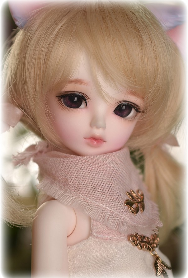 luodoll BJD SD doll baby girl doll Removing seam - Rru & Lilid 1/6 bjd doll(include makeup and eyes)